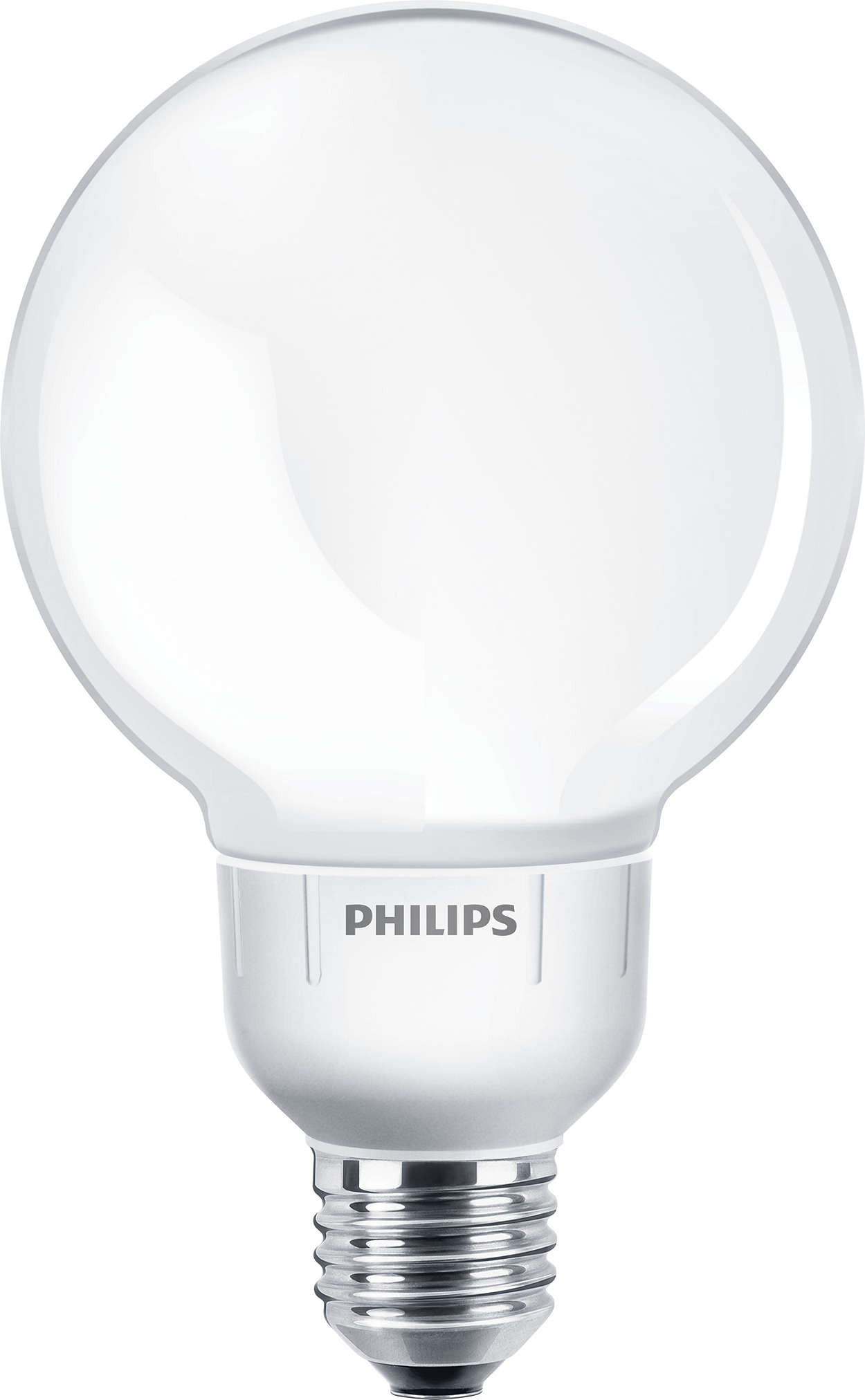 Energiesparlampe Softone Globe G93 9W, E27-Sockel, 410Lm, Startzeit: 10-100 Sek,