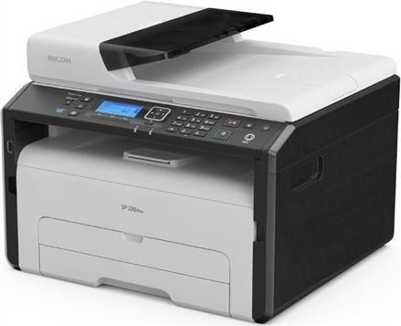 Ricoh Multifunktionsdrucker SP 277SNWX, Schwarzweiss Laser Drucker, A4, 23 Seiten pro Minute, Drucken, Scannen, Kopieren, Duplex und WLAN