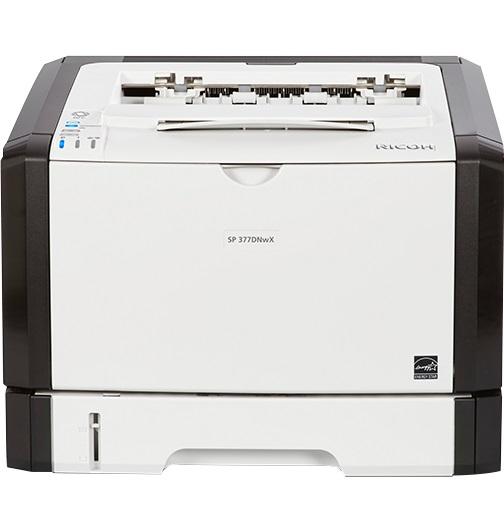 Ricoh SP 377DNWX, Schwarzweiss Laser Drucker, A4, 28 Seiten pro Minute, Drucken, Duplex und WLAN