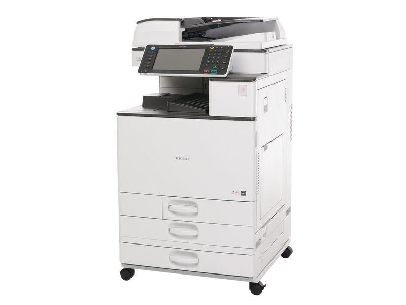 Ricoh Multifunktionsdrucker MP C2011SP, Farblaser Drucker, A3, 20 Seiten pro Minute, Drucken, Scannen, Kopieren, Duplex