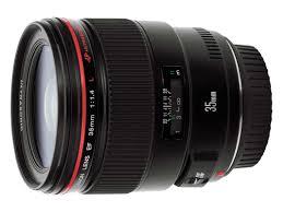 Canon Objektiv EF 35mm f / 1.4L II USM, Canon Schweiz Ware