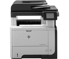 Hewlett-Packard HP Pro 500 MFP M521dn, Schwarzweiss Laser Drucker, A4, 40 Seiten pro Minute, Drucken, Scannen, Kopieren, Fax, Duplex