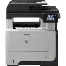 Hewlett-Packard HP Pro 500 MFP M521dw, Schwarzweiss Laser Drucker, A4, 40 Seiten pro Minute, Drucken, Scannen, Kopieren, Fax, Duplex und WLAN