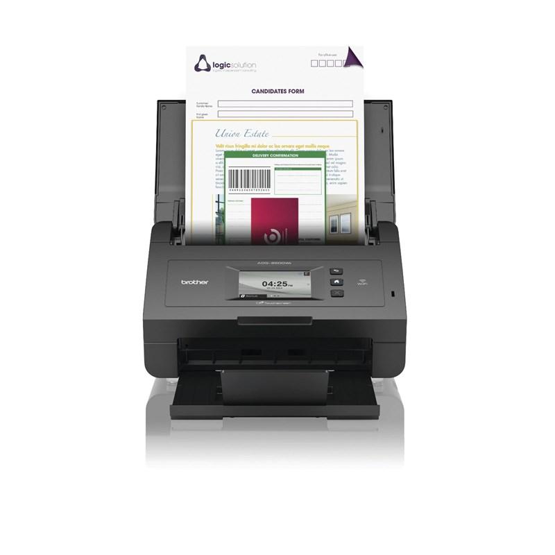 ADS2600WE DUPLEX-SCANNER WLAN Eingabetyp: ADF, Einzugsscanner/ Vorlagenform.: A6, A5, DIN A4/ Scangeschw.: 24 ppm/ opt. Aufl.: 1200 dpi/ USB 2.0, WLAN, Ethernet 10/100-TX/ Duplex: automatisch/ 256MB  NMS ML