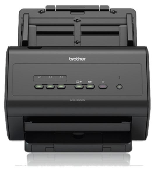 Brother ADS-3000N, Duplex, Netzwerk, Dokumentenscanner