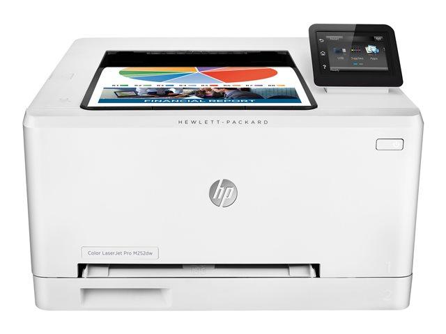 Hewlett-Packard HP M252dw, Farblaser Drucker, A4, 18 Seiten pro Minute, Drucken, Duplex