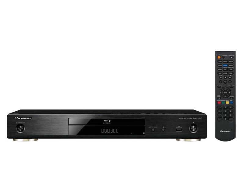 Pioneer Blu-ray Player BDP-X300-B 3D-Fähigkeit, TV-Tuner: Kein, Farbe: Schwarz, Schnittstellen: HDMI, USB, LAN, Composite, Coaxial, Toslink, Typ: Bluray Player, Ausstattung: 4K Upscale, Hi-Res Audio, LAN, Miracast, DLNA