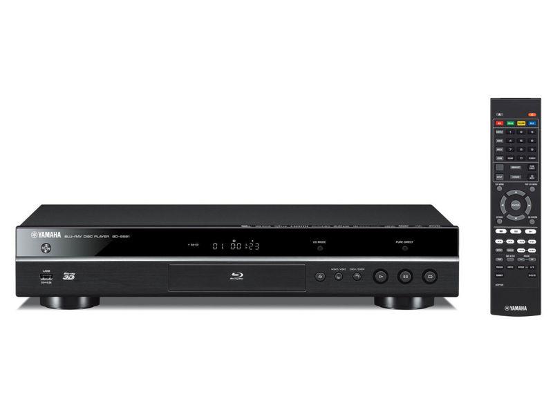 Yamaha Bluray Player BD-S681, 3D-Fähigkeit, Tuner-Signal: Kein, Farbe: Schwarz, Schnittstellen: USB; HDMI; Coaxial; RJ-45 (Ethernet), Typ: Bluray Player, Ausstattung: Fernbedienung; WLAN; 4K Upscale