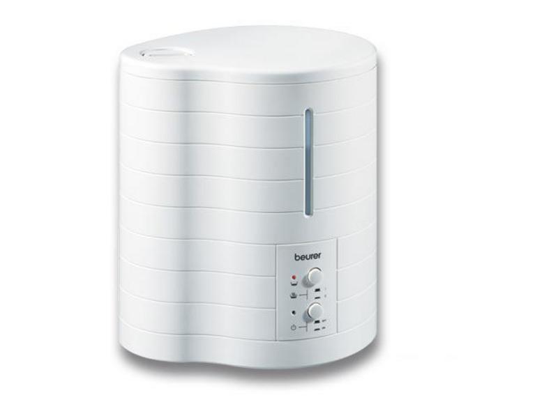 Luftbefeuchter Warmluft LB50, bis 40 m² Raumgrösse, sehr leiser Betrieb, Kontroll-LEDs,