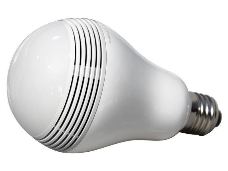 MiPow Playbulb Warmweiss Energieeffizienzklasse: A, Lampensockel: E27, Lampenform: Birnenform, Farbtemperatur: Warmweiss, Glühbirne Äquivalent: 20 W, Lichtstärke: 215 lm, Dimmbar, Zusätzliche Ausstattung: Integrierter Lautsprecher, 3W LED, Lichtstrom