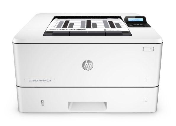 Hewlett-Packard HP LaserJet Pro M402n, Schwarzweiss Laser Drucker, A4, 38 Seiten pro Minute, Drucken