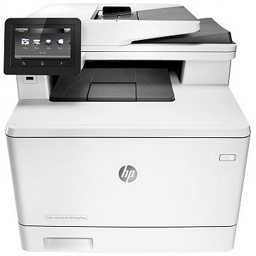 Hewlett-Packard HP MFP M477fnw, Farblaser Drucker, A4, 27 Seiten pro Minute, Drucken, Scannen, Kopieren, Fax, Duplex und WLAN