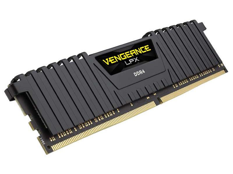 Corsair Vengeance LPX DDR4 Memory 32GB 2-Kit Arbeitsspeicher Bauform: DIMM, Arbeitsspeicher-Typ: DDR4, Arbeitsspeicher Geschwindigkeit: 3200 MHz, Arbeitsspeicher Pins: 288, Fehlerkorrektur: Unbuffered, Anzahl Speichermodule Kit: 2, Speicherkapazität