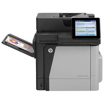 Hewlett-Packard HP MFP M680DN, Farblaser Drucker, A4, 42 Seiten pro Minute, Drucken, Scannen, Kopieren, Fax, Duplex