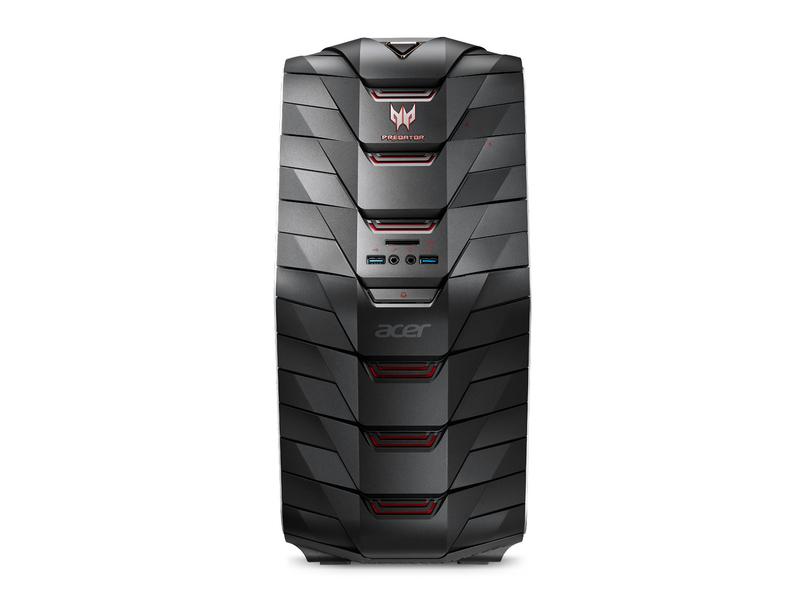 Acer PC Predator G6-710 Speichertyp: SSD, HDD, Servicetyp: Bring-in, Prozessorfamilie: Intel Core i7 (7xxx), Anwendungsbereich: Consumer, Gaming, Speicherkapazität total: 4512 GB, Verbauter Arbeitsspeicher: 64 GB, Betriebssystem: Windows 10 Home 64 B