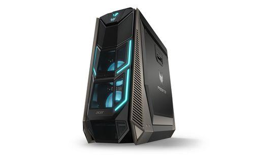 Acer PC Predator Orion 9000, Speichertyp: SSD; HDD, Servicetyp: Bring-in, Optisches Laufwerk: DVD-Brenner, Prozessorfamilie: Intel Core i7 (8xxx), Anwendungsbereich: Consumer; Gaming, Speicherkapazität Total: 1512 GB, Verbauter Arbeitsspeicher: 32 GB