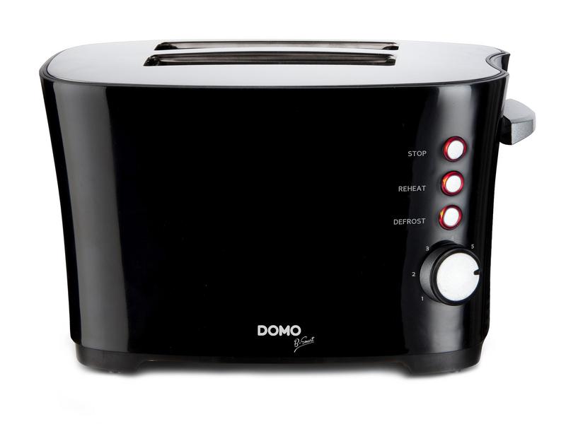 Toaster DO941T Farbe: Schwarz, Toaster Ausstattung: Auftaufunktion, Krümel-Auffangschale, Toaster Kategorie: Klassischer Toaster, Toastscheiben: 2 ×, 7 Temperaturstufen