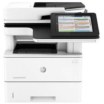 Hewlett-Packard HP Enterprise Flow MFP M527C, Schwarzweiss Laser Drucker, A4, 43  Seiten pro Minute, Drucken, Scannen, Kopieren, Fax, Duplex