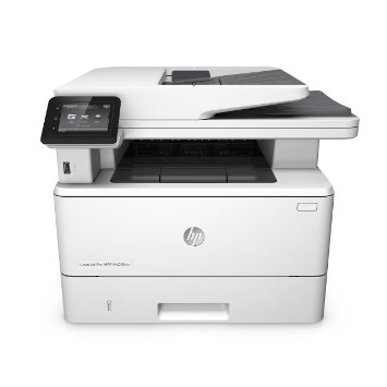 Hewlett-Packard HP LaserJet Pro MFP M426fdn, Schwarzweiss Laser Drucker, A4, 38 Seiten pro Minute, Drucken, Scannen, Kopieren, Fax, Duplex