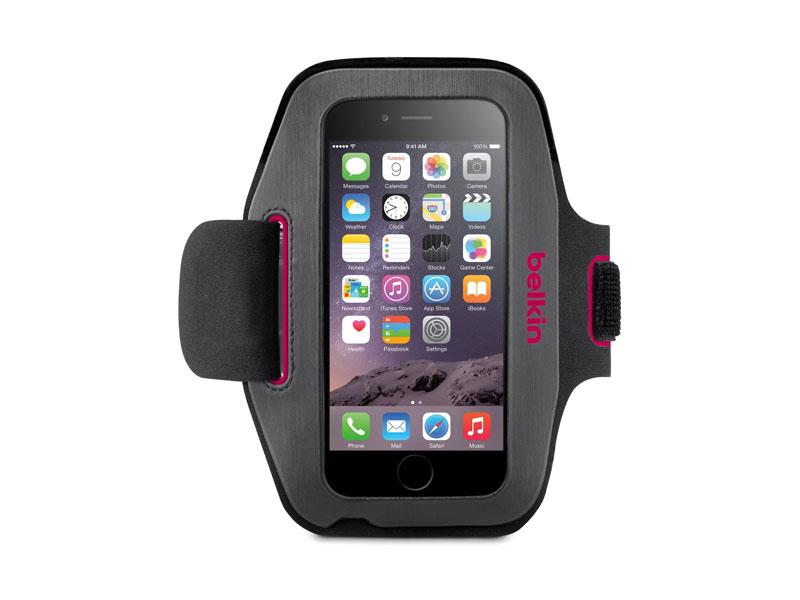 Belkin Sport-Fit Armband - Arm Pack für Mobiltelefon - Neopren - für Apple iPhone 6