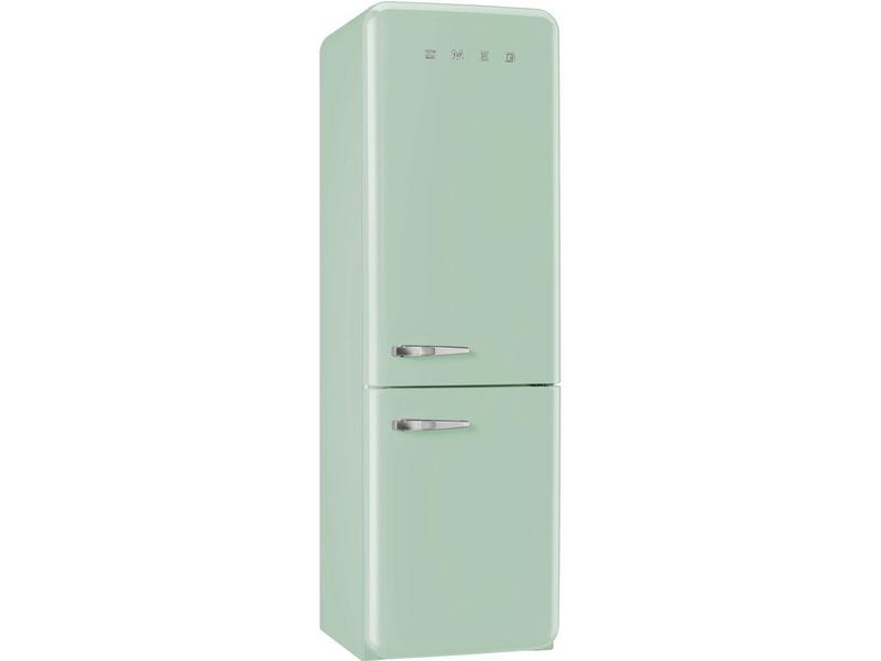 SMEG Kühlschrank FAB32RVN1 Rechts Energieeffizienzklasse: A++, Bauart: Freistehend, Einbaunormen: Keine, Nutzinhalt Kühlen: 229 l, Nutzinhalt Gefrieren: 75 l, Breite: 600 mm, Nutzinhalt Gesamt: 304 l, Abtauverfahren Kühlung: Automatisch, Farbe: Grün,