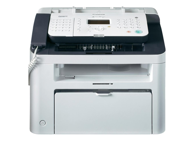 Canon i-SENSYS FAX-L170, Schwarzweiss Laser Drucker, A4, 18 Seiten pro Minute, Drucken, Scannen, Kopieren, Fax, Duplex