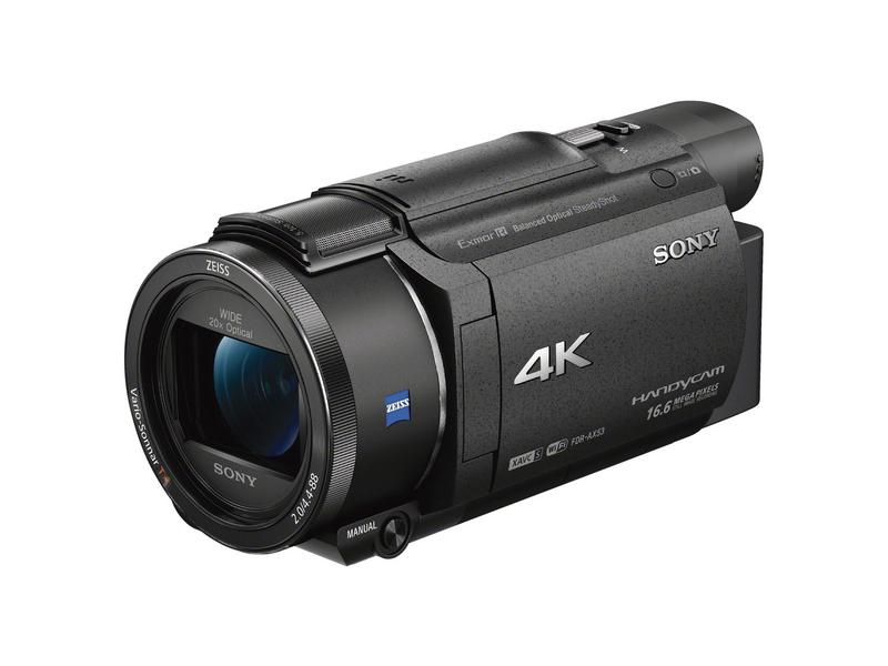 Sony Videokamera FDR-AX53, Widerstandsfähigkeit: Keine, Bildschirmdiagonale: 3 \
