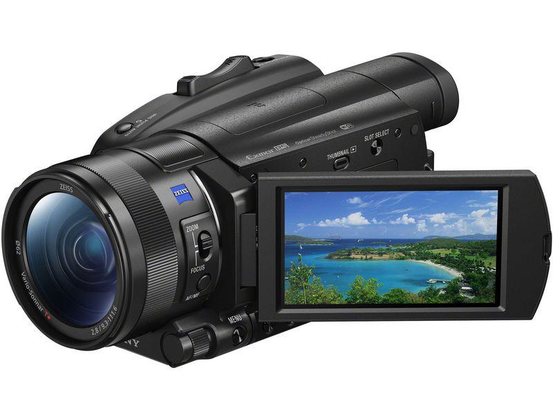 Sony Videokamera FDR-AX700, Widerstandsfähigkeit: Keine, Bildschirmdiagonale: 3.5 \