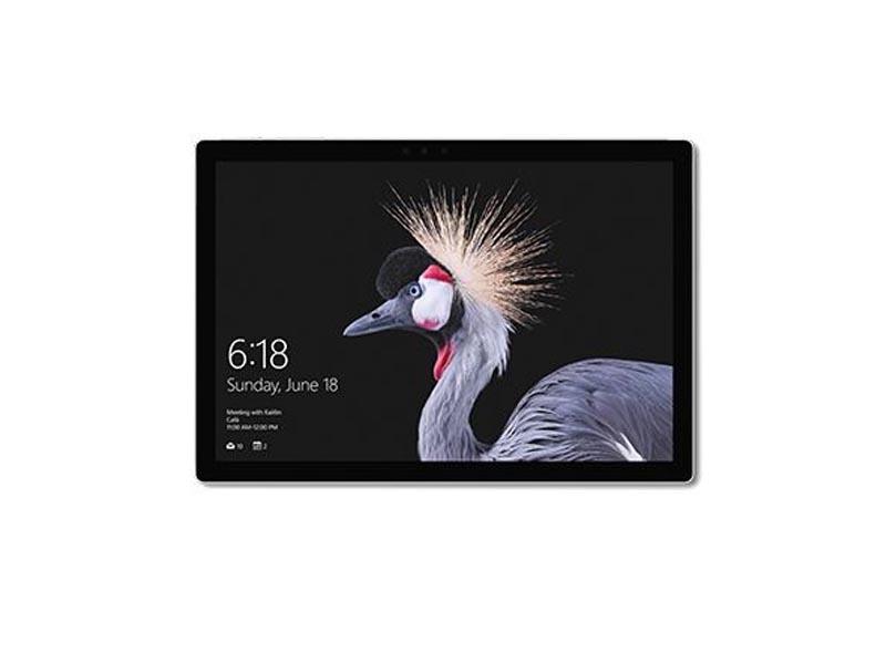 Microsoft Tablet Surface Pro, Intel Core i5-7300U, 8GB RAM, 256GB SSD, 12.3 Zoll, 2736 x 1824 Pixel, 5 MP und 8 MP Webcam, Windows 10 Pro, Schwarz-Silber