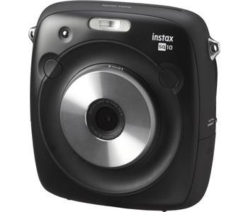 Fujifilm Instax Square SQ10 Farbe: Schwarz, Blitz integriert, Kapazität Wattstunden: 0