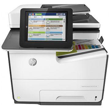 Hewlett-Packard HP PageWide Enterprise 586DN, Farbe Tintenstrahl Drucker, A4, 50 Seiten pro Minute, Drucken, Scannen, Kopieren, Duplex