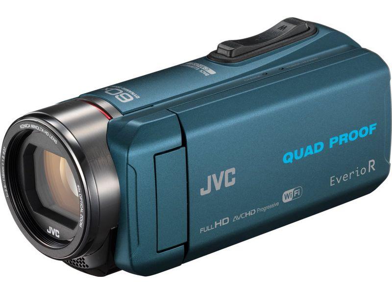 JVC Camcorder GZ-RX645A Widerstandsfähigkeit: Wassergeschützt, Stossgeschützt, Frostbeständig, Staubgeschützt, Bildschirmdiagonale: 3 \