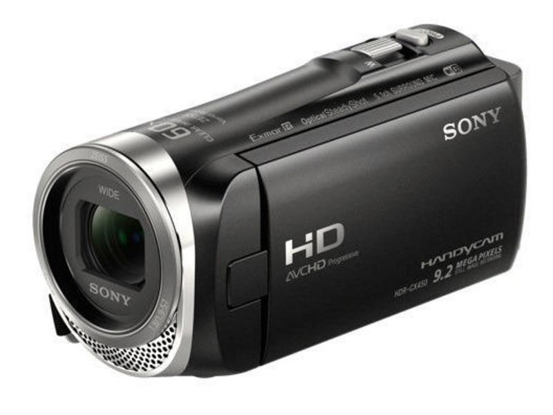 Sony Videokamera HDR-CX450, Widerstandsfähigkeit: Keine, Bildschirmdiagonale: 3 \