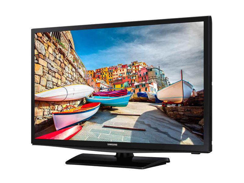 Samsung Hotel TV 24EE470 16:9, DVB-T2/C, HD Ready, schwarz, HD Ready, LYNK REACH RF 4.0, USB, HDMI, Scart, RJ12,