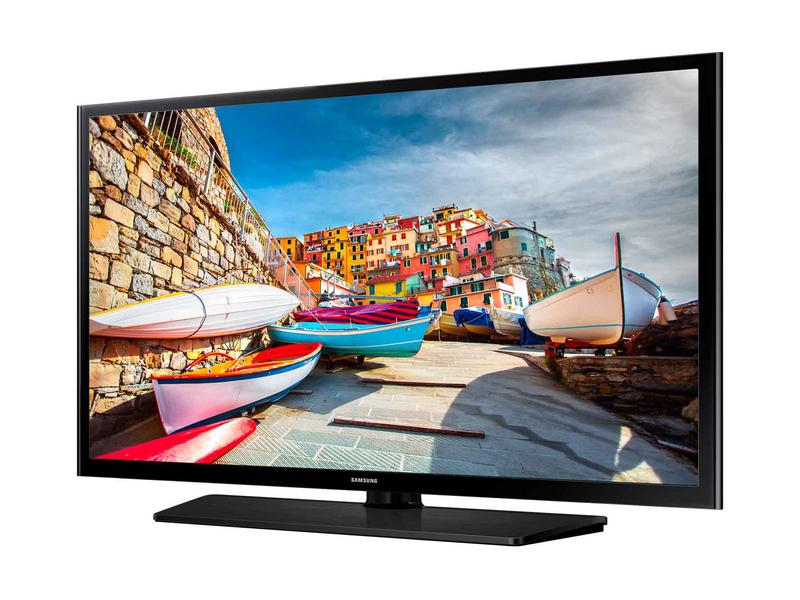 Samsung Hotel TV 40EE470 16:9, DVB-T2/C, Full HD, schwarz, Full HD, LYNK REACH RF 4.0, USB, HDMI, Scart, VGA, RJ12