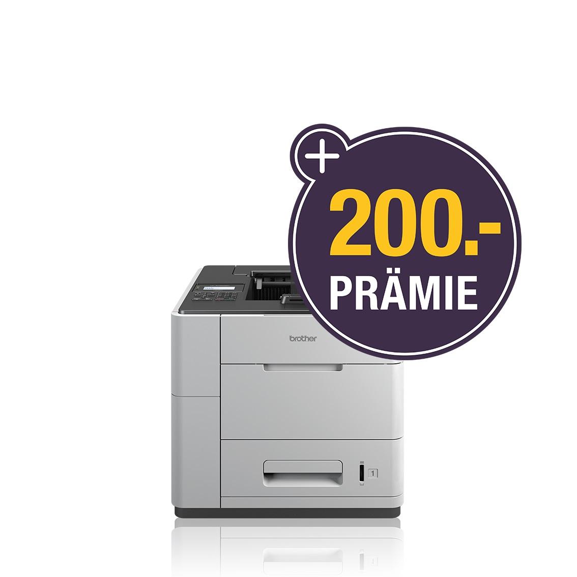 Brother HL-S7000DN, Schwarzweiss Tintenstrahl Drucker, A4, 100 Seiten pro Minute, Drucken, Duplex und WLAN