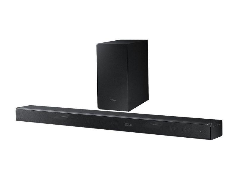 Samsung Dolby Atmos Soundbar HW-K850 Verbindungsmöglichkeiten: HDMI, Toslink, 3.5mm Klinke, Audiokanäle: 3.1.2, Farbe: Schwarz, Soundbar Typ: Soundbar mit kabellosem Subwoofer, Ausstattung: Multiroom, 4K UltraHD