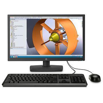 HP Zero Client t31, All-in-One, Teradici Tera2321, 512 MB RAM, 23.6\