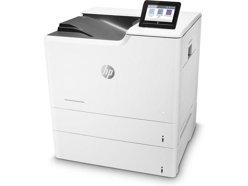 Hewlett-Packard HP M653x, Farblaser Drucker, A4, 56 Seiten pro Minute, Drucken, Duplex