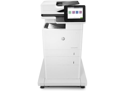 Hewlett-Packard HP LaserJet Enterprise MFP M632fht, Schwarzweiss Laser Drucker, A4, 61 Seiten pro Minute, Drucken, Scannen, Kopieren, Fax, Duplex