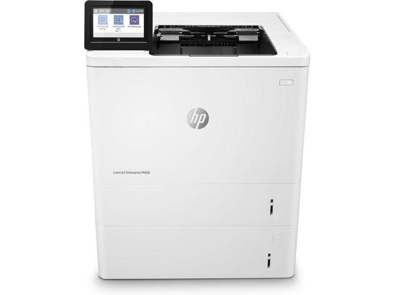 Hewlett-Packard HP M608x, Schwarzweiss Laser Drucker, A4, 61 Seiten pro Minute, Drucken, Duplex und WLAN