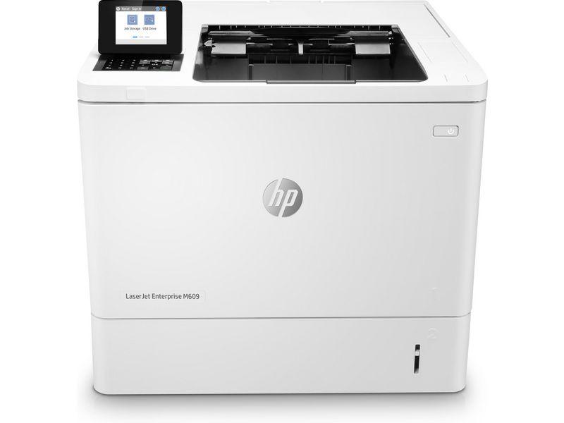 Hewlett-Packard HP M609dn, Schwarzweiss Laser Drucker, A4, 71 Seiten pro Minute, Drucken, Duplex