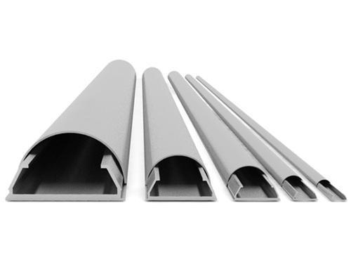 Aluminium Kabelkanäle L 1100mm B 18mm, KK 18-1100 WE = Weiss