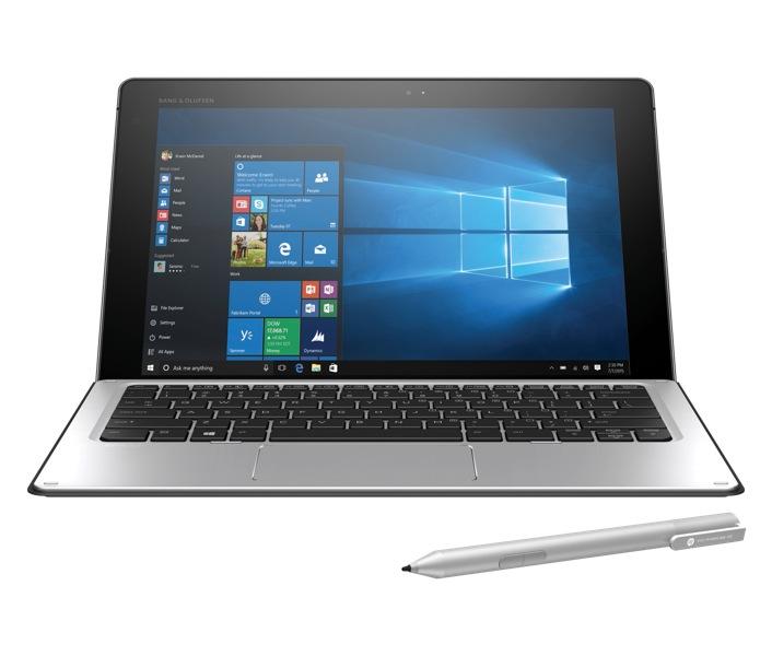 Hewlett-Packard HP Notebook Elite x2 1012 G1, Intel Core m7-6Y75, 8GB DDR3 RAM, 256GB SSD, 12 Zoll, 1920 x 1280 Pixel, Windows 10 Pro