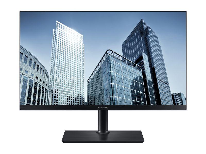 Samsung LS24H850QFUXEN, 24 Zoll LED, 2560 x 1440 Pixel Full HD, 16:9, HDMI USB, Schwarz