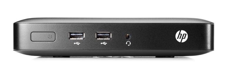 HP Thin Client t420 AMD DC GX-209JA 8GB USB 3.0 Flash Memory 2GB RAM AMD HD Chipset GFX HP Smart Zero Core 32-bit