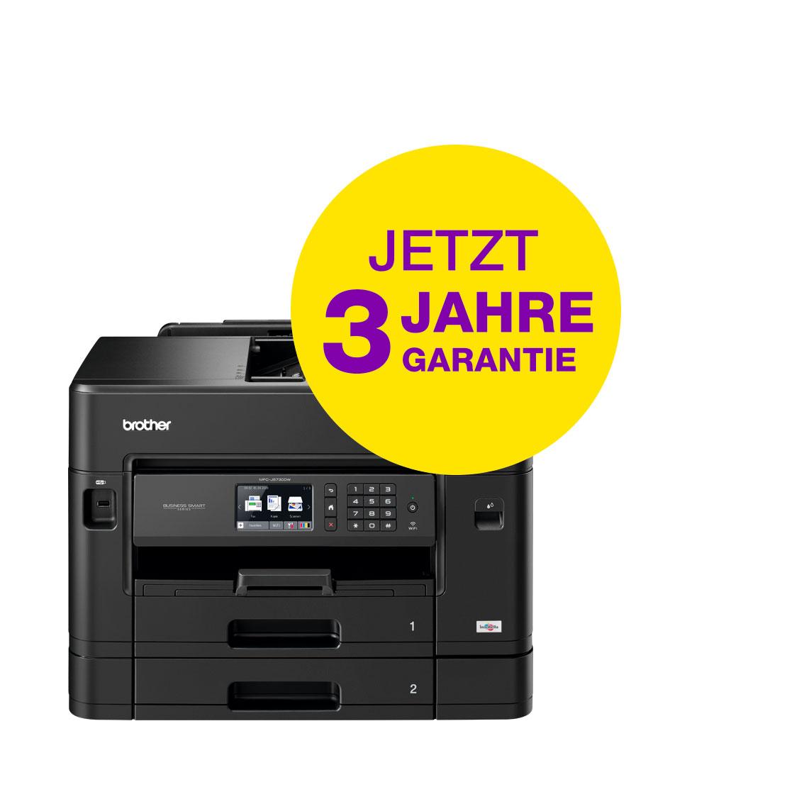 Brother MFC-J5730DW, Farbe Tintenstrahl Drucker, A4, 22 Seiten pro Minute, Drucken, Scannen, Kopieren, Fax, Duplex und WLAN