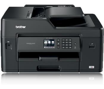 Brother MFC-J6530DW, Farbe Tintenstrahl Drucker, A3, 22 Seiten pro Minute, Drucken, Scannen, Kopieren, Fax, Duplex und WLAN
