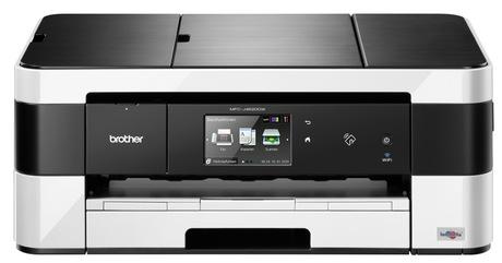 Brother MFCJ4620DWC1, Tintenstrahl Drucker , A3, 22 Seiten pro Minute, Drucken, Scannen, Kopieren, Fax, Duplex und WLAN