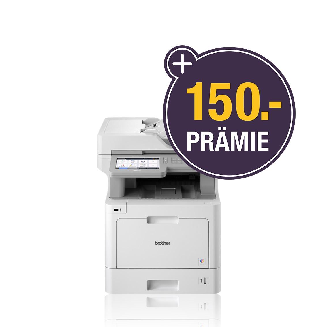 Brother MFC-L9570CDW, Farblaser Drucker, A4, Drucken, Scannen, Kopieren, Fax, Duplex